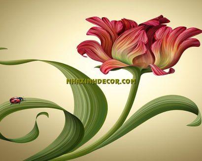 Tranh hoa F263