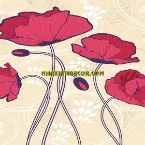 Tranh hoa F275