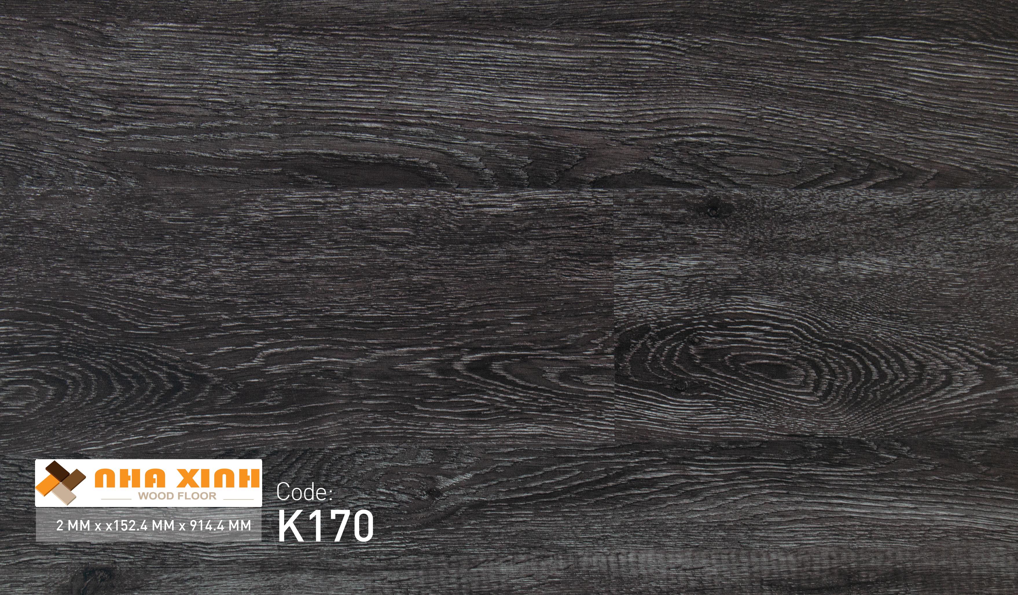 Sàn nhựa Nhà Xinh K170