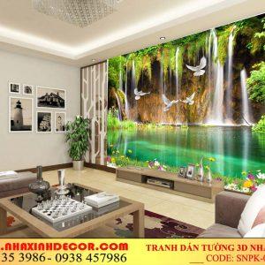 Tranh dán tường phòng khách snpk-002