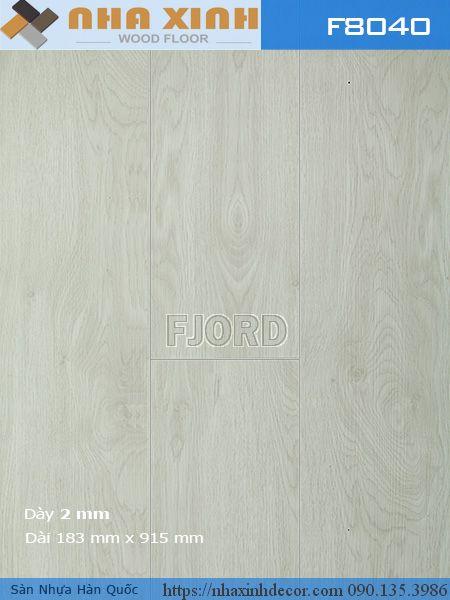 Sàn nhựa có keo sẵn Fjord 8040