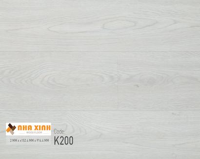 Sàn nhựa Nhà Xinh K200