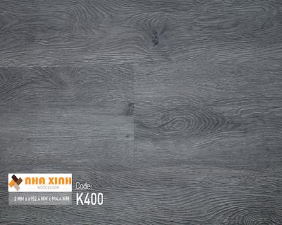 Sàn nhựa Nhà Xinh K400