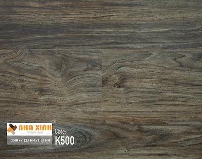 Sàn nhựa Nhà Xinh K500