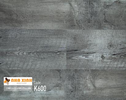 Sàn nhựa Nhà Xinh K600