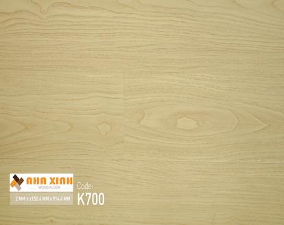 Sàn nhựa Nhà Xinh K700