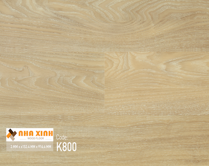 Sàn nhựa Nhà Xinh K800