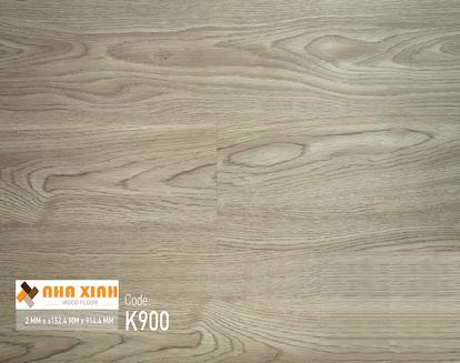 Sàn nhựa Nhà Xinh K900