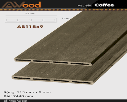 AWood AB115x9 Coffee