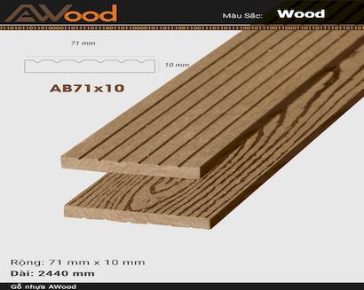 AWood AB71x10 Wood