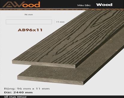 AWood AB96x11 Coffee