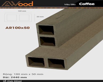 AWood AR100x50-coffee