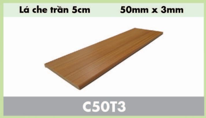 Lá che trần composite C50T3
