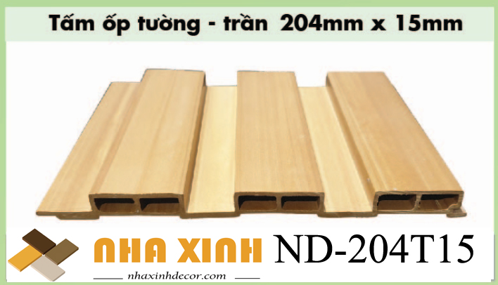 Gỗ nhựa composite ND-204T15