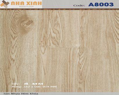 Sàn nhựa hèm khoá AROMA A8003