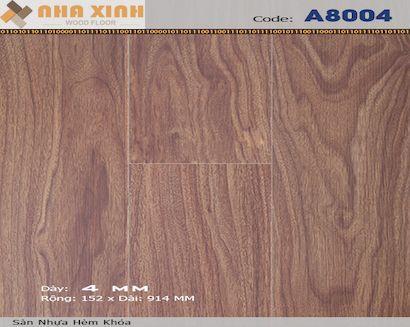 Sàn nhựa hèm khoá AROMA A8004