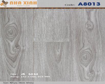 Sàn nhựa hèm khoá AROMA A8013