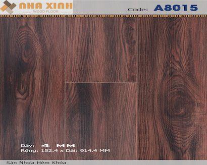Sàn nhựa hèm khoá AROMA A8015