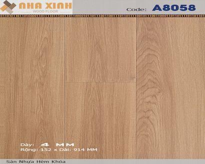Sàn nhựa hèm khoá AROMA A8058