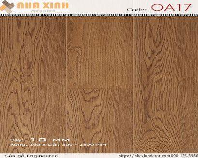 Sàn gỗ Engineered OA17