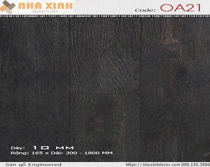 Sàn gỗ Engineered OA21