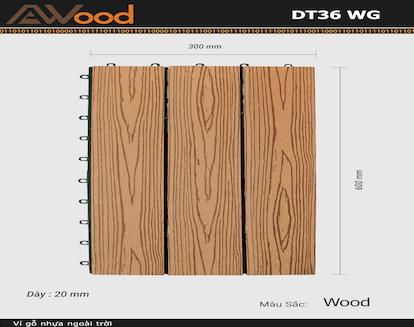 Vỉ AWood DT36 WG Wood