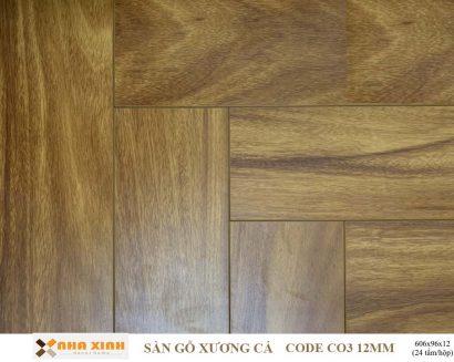 Sàn gỗ xương cá C03