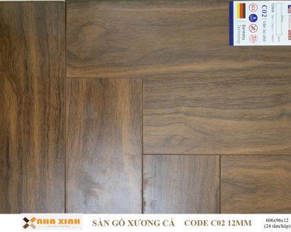 Sàn gỗ xương cá C02