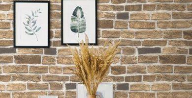 Những mẫu giấy dán tường đẹp giả gạch dành cho quán cà phê, nhà hàng, quán ăn