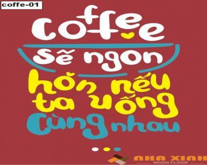 Tranh canvas Cafe 02