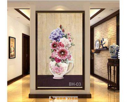 Tranh Bình Hoa BH-03