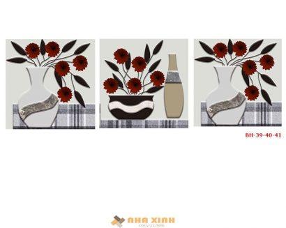 Tranh Bình Hoa BH-3941