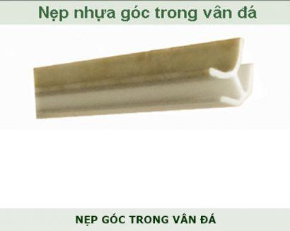 Nẹp nhựa góc trong pvc vân đá