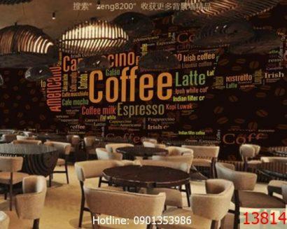 Tranh cà phê 13814683