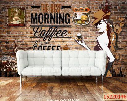 Tranh quán cà phê 15220146