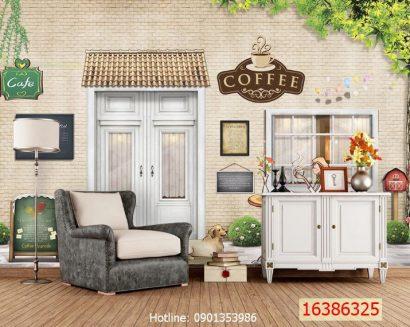 Tranh cà phê 16386325