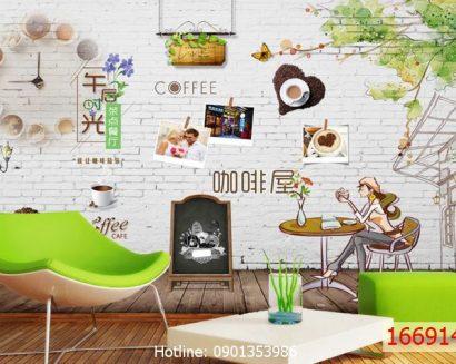 Tranh cà phê 16691428