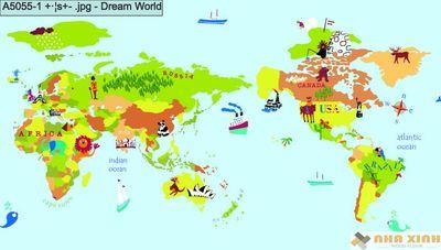 Giấy dán tường Dreamworld A5055-1