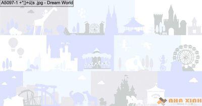 Giấy dán tường Dreamworld A5097-1