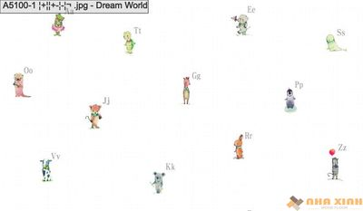 Giấy dán tường Dreamworld A5100-1