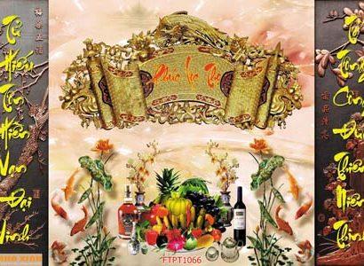 Tranh phòng thờ FTPT1066