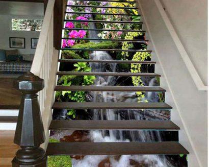 Tranh bậc cầu thang PTD114