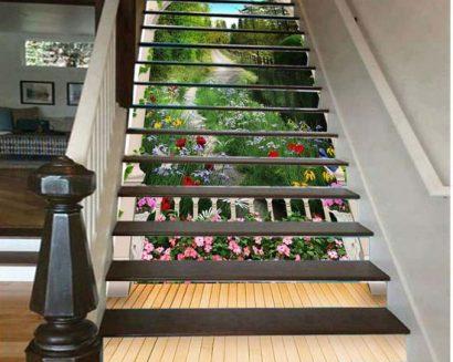 Tranh bậc cầu thang PTD137