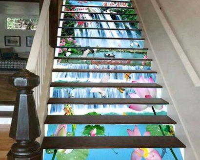 Tranh bậc cầu thang PTD141