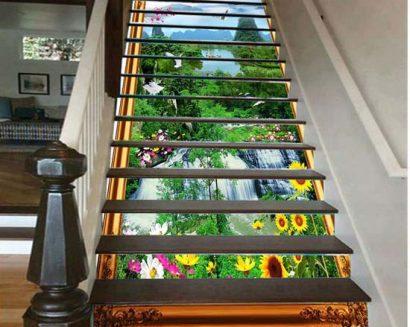 Tranh bậc cầu thang PTD158
