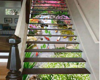 Tranh bậc cầu thang PTD162