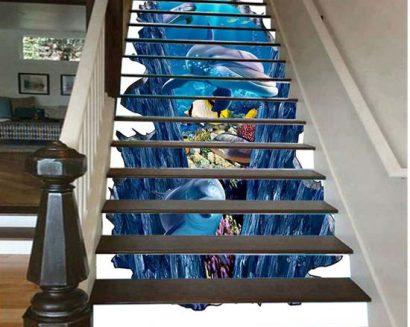 Tranh bậc cầu thang PTD198