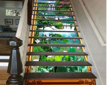 Tranh bậc cầu thang PTD204