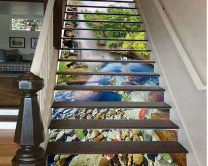 Tranh bậc cầu thang PTD220